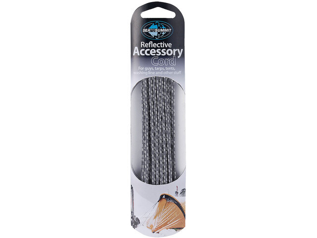 Sea to Summit Reflective Accessory Cord 1,8mm/10m, grey
